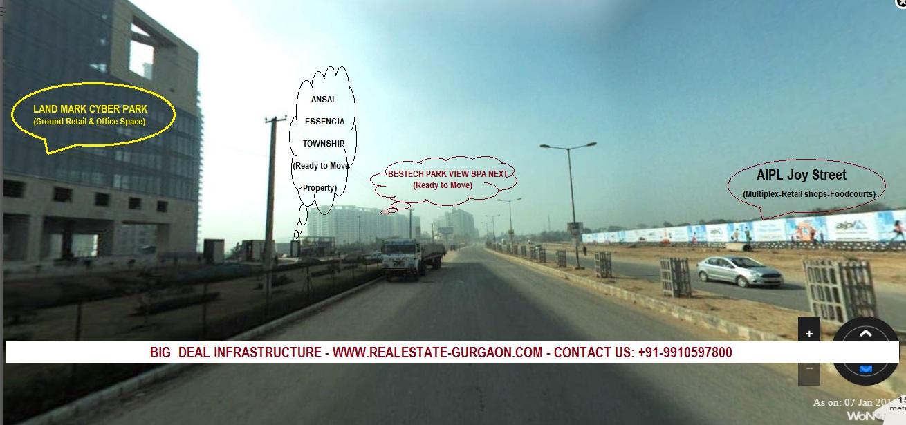 AIPL Joy Street Gurgaon, New launch commercial sec 66 gurgaon, upcoming high street market gurgaon,