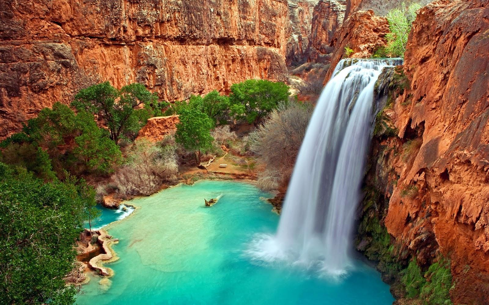arizona waterfall hd images photos desktop wallpapers pics