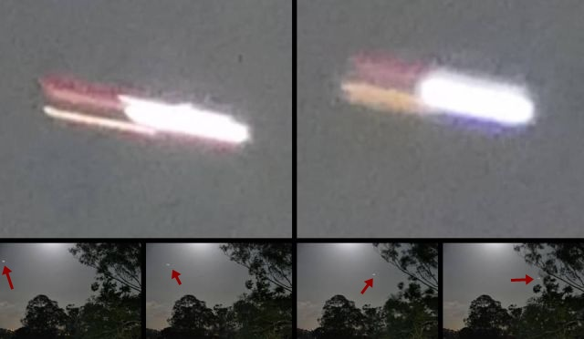Strange bright UFO spotted over Brisbane, Australia during full moon rising  Bright%2Bufo%2Bbrisbane%2BAustralia