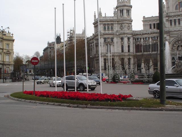 Apertura de CentroCentro (Palacio de Cibeles) con motivo de la Fiesta Nacional hoy 12 de octubre