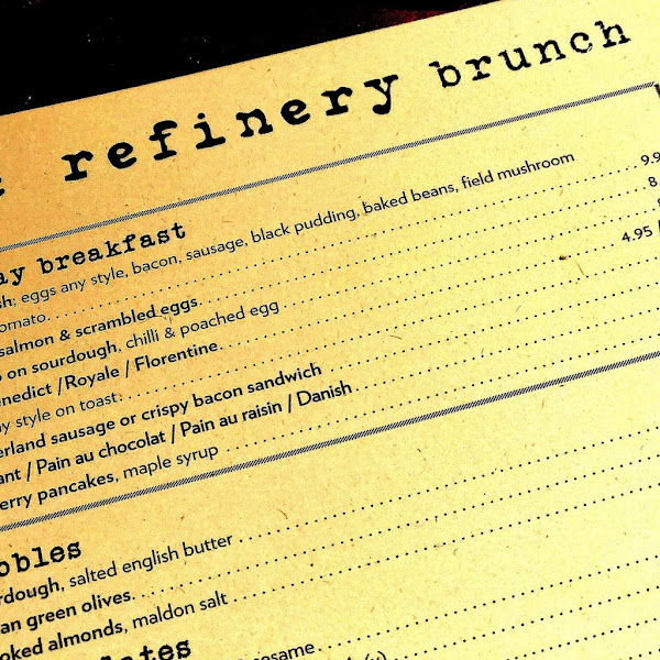 MANCHESTER EATS: THE REFINERY