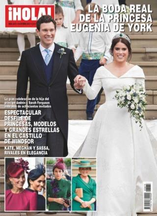 ¡HOLA! Núm. 3873: La boda real de la Princesa Eugenia de York