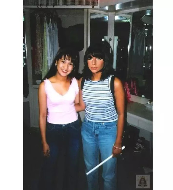 This Is The Shocking Story Of The Viral Photo Of Young Jolina Magdangal and Lady Gaga!