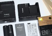 Jual Sparepart Kamera, Charger, Baterai, Lensa, BG, Filter, dll
