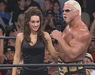 WCW Superbrawl IX - Big Poppa Pump Scott Steiner and Jenna Flangleton