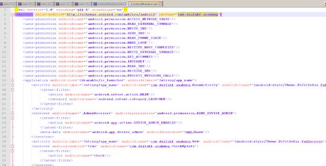 hapus aplikasi malware