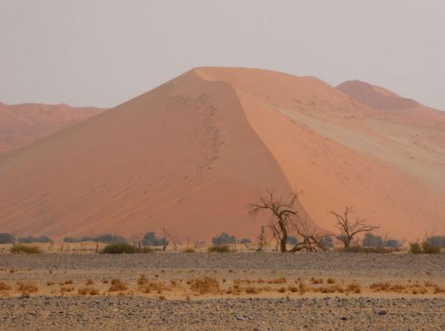 panorama nel  Parco Nazionale Namib-Naukluft