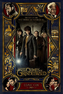 Fantastic Beasts: The Crimes of Grindelwald First Look Poster 1