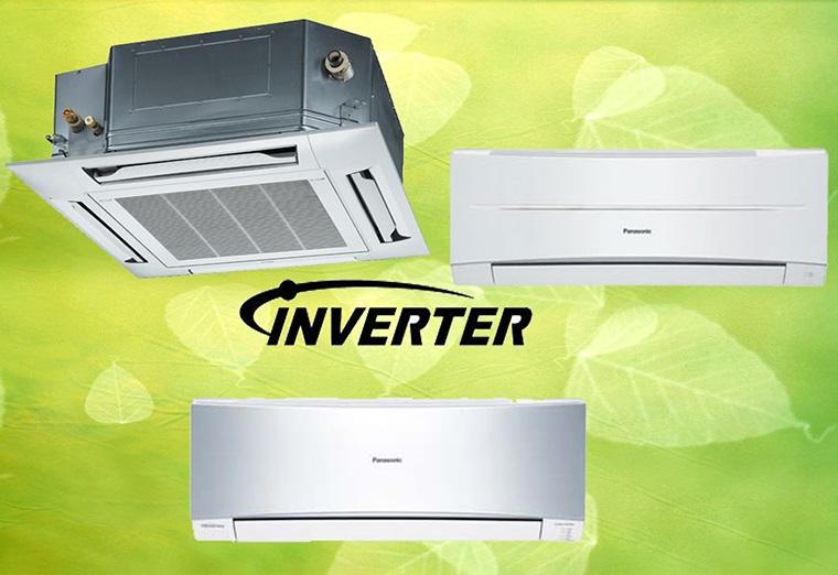 Máy lạnh Panasonic tiết kiệm điện được trang bị công nghệ inverter làm lạnh cực nhanh và tiết kiệm điện