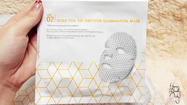 Review; LEAGUERTOX's Gold Foil See-Through Illumination Mask
