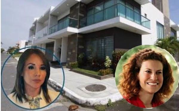 """Mientras continua el """"show"""" de Rafa Márquez, Duarte regaló casas a su amante hoy presa, imagina lo que le regaló a su esposa Karime, hoy libre"""