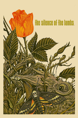 Silence of the Lambs Variant Screen Print by Florian Bertmer