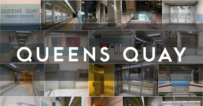 Queens Quay station photo gallery