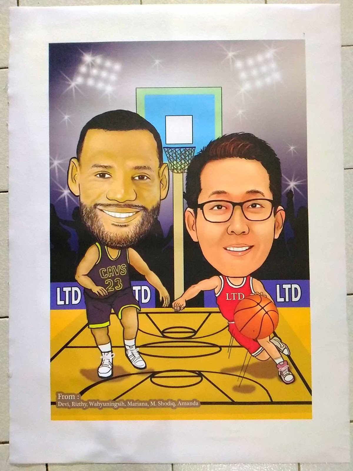Jasa Karikatur Wajah Karikatur Digital Dan Manual January 2018