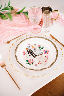 handmade plate on table setting