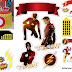 Fiesta de Flash: Toppers para Tartas, Tortas, Pasteles, Bizcochos o Cakes para Imprimir Gratis.