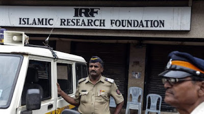 Mr Naik is the founder and president of Mumbai-based charity organisation Islamic Research Foundation
