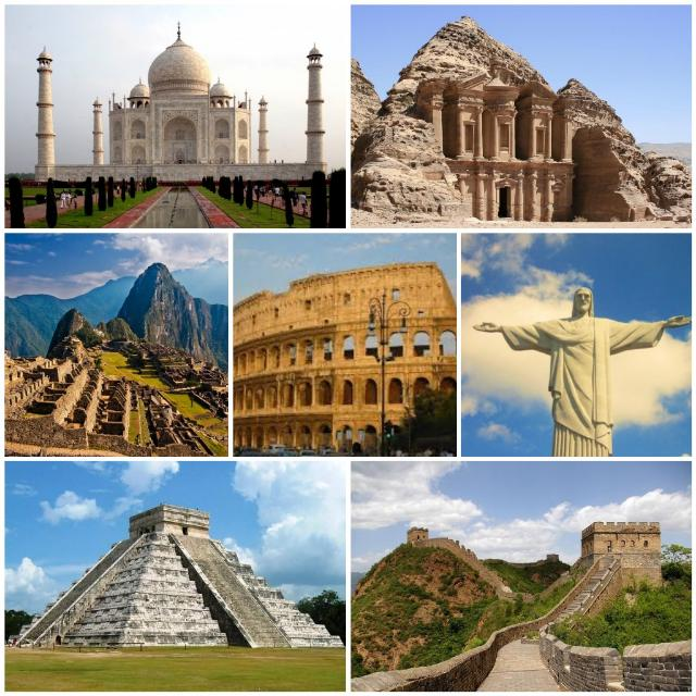 Seven Wonders of The World (Complete Details)