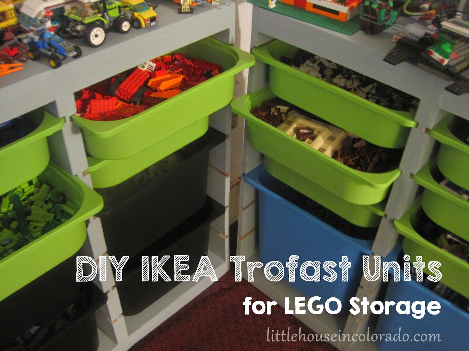 Little House In Colorado Diy Ikea Trofast For Lego Storage