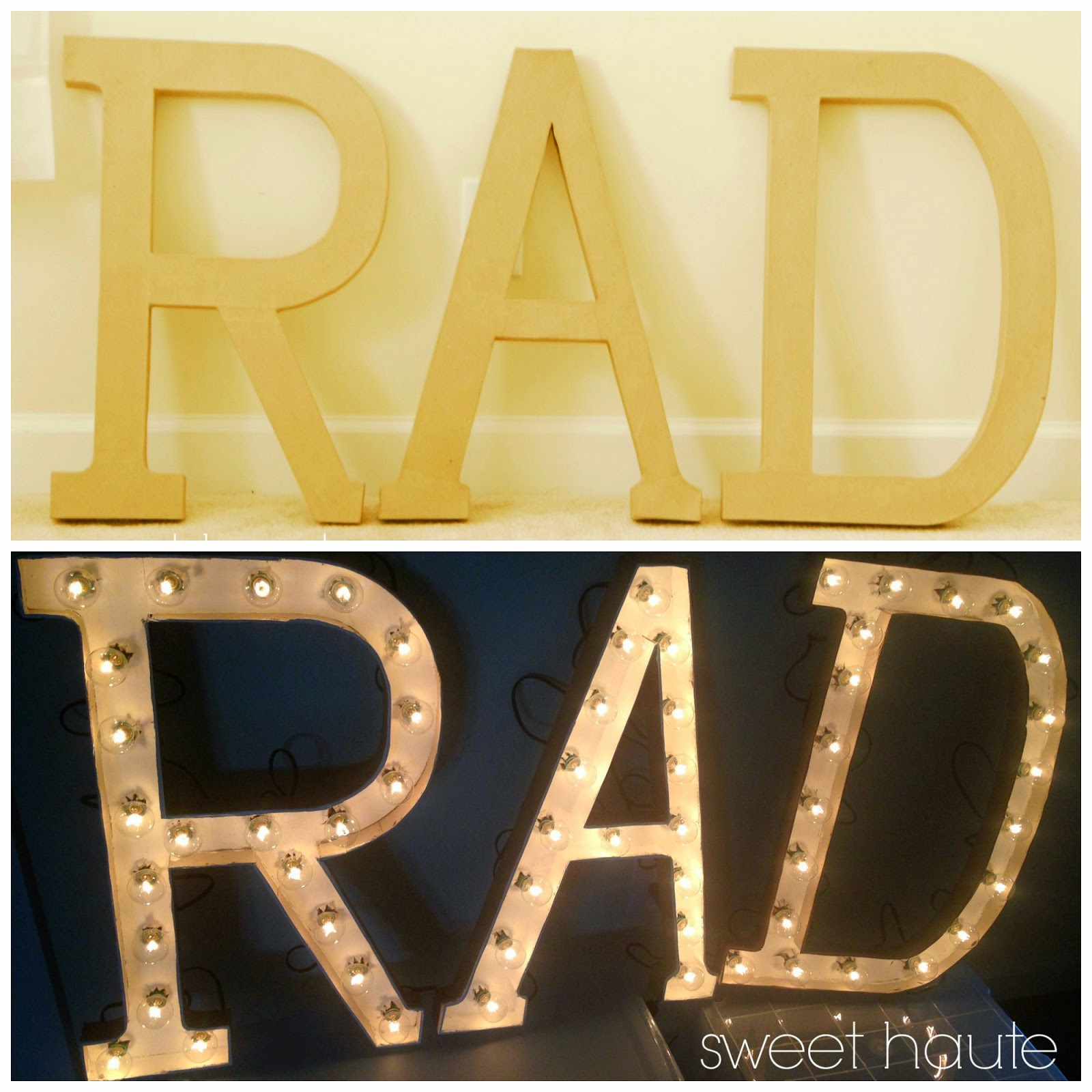 http://sweethaute.blogspot.com/2014/05/rad-marquee-letters-tutorial.html