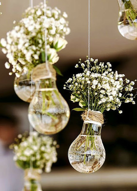 Light up your reception with this innovative decor idea