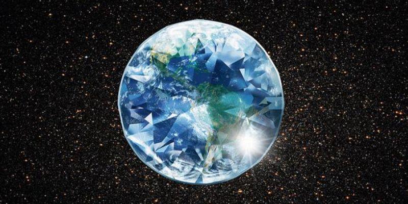 Картинки по запросу ученые обнаружили алмаз со льдом из другой планеты