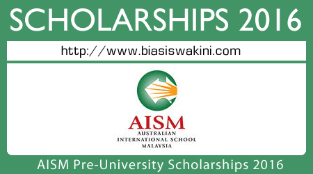 AISM University Scholarships 2016