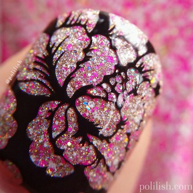 Stamping over Glam Polish 'Lanikai Dreaming'   polilish