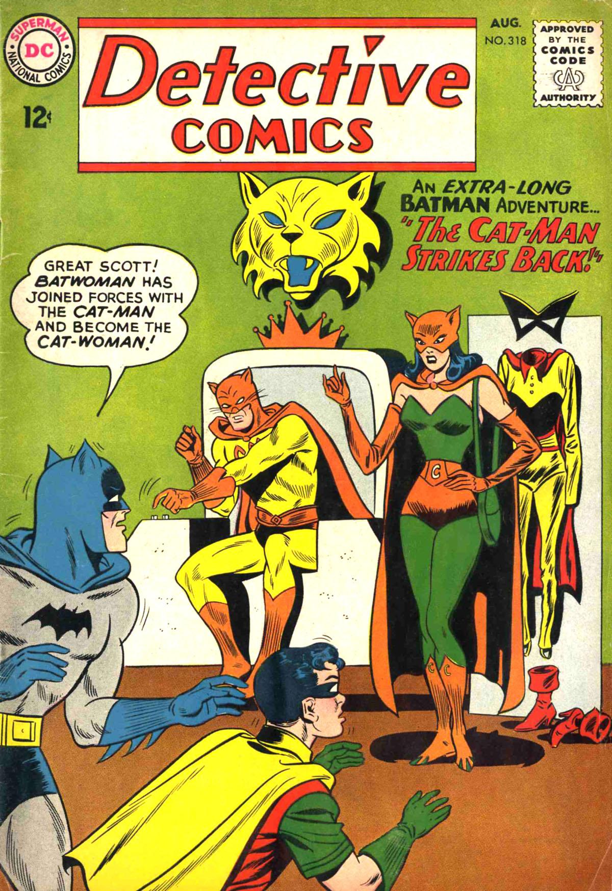 Detective Comics (1937) 318 Page 0