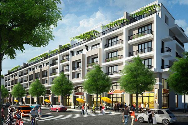 Khu biệt thự song lập dự án Mon Bay Hạ Long