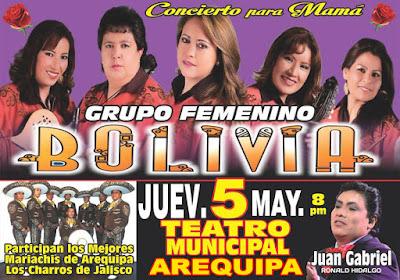 Grupo Bolivia en Arequipa