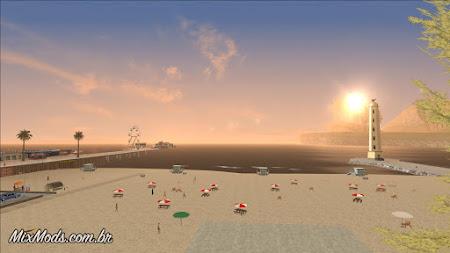 gta sa mod real skybox sky realistic céu realista nuvens clouds