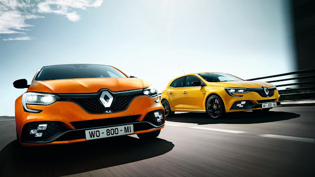 2018 Renault Megane RS a brutal compact that will fuel the war on the Nürburgring with 280 hp