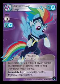 My Little Pony Rainbow Dash, Zapp High Magic CCG Card