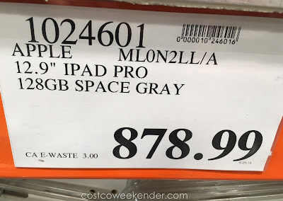 Deal for the Apple 128gb iPad Pro at Costco