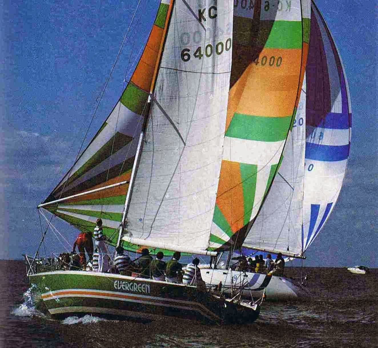 RB Sailing Evergreen And The Canadas Cup 1978