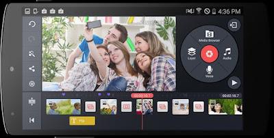 download aplikasi edit video KineMaster Pro Video Editor apk