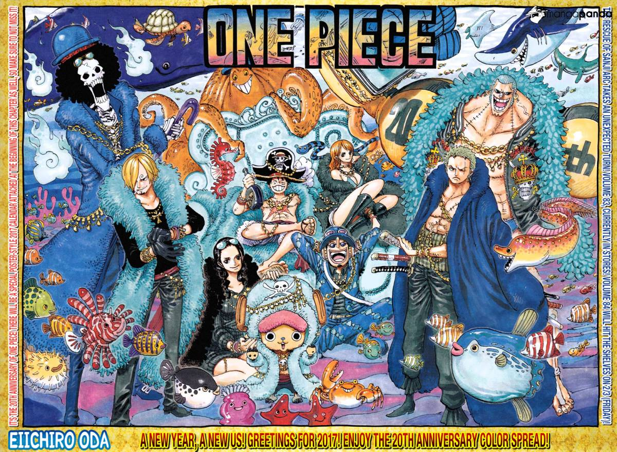One Piece - Chapter 854