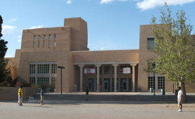 zimmerman library, unm library, unm