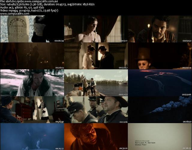 Abraham Lincoln Cazador de Vampiros DVDRip Subtitulos Español Latino Película 2012