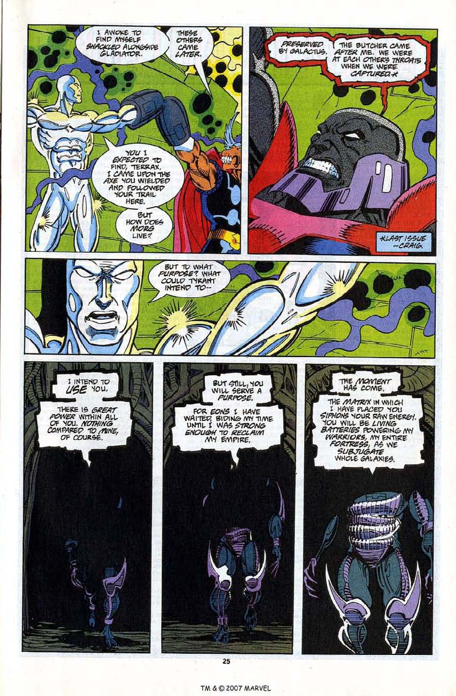 Read online Silver Surfer (1987) comic -  Issue #81 - 27