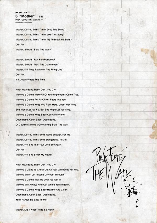 Lyric pink floyd songs lyrics : theKONGBLOG™: