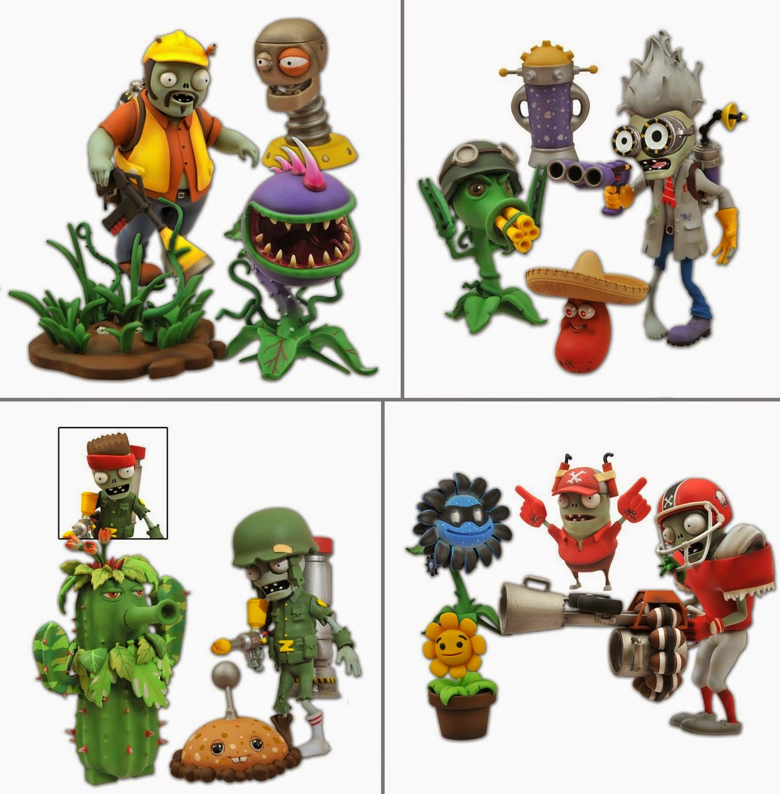Plants Vs. Zombies: Garden Warfare action figure