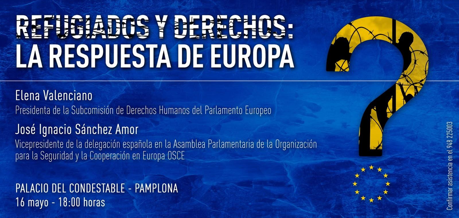 Conferencia sobre Refugiados - 16 de mayo