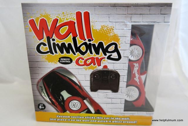 Wall climbing car