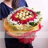 bunga anniversary pacar