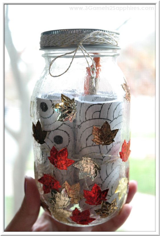 DIY 'A Year of Smiles' Mason Jar Gift Tutorial  |  3 Garnets & 2 Sapphires