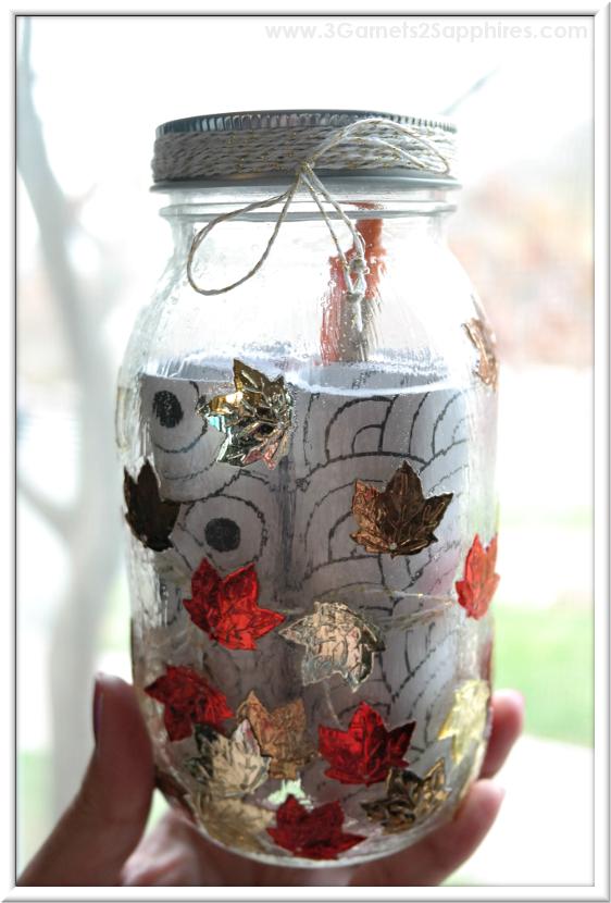 DIY 'A Year of Smiles' Mason Jar Gift Tutorial  |  3 Garnets & 2 Sapphires