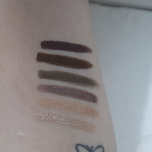 Laura Mercier Caviar Stick swatches