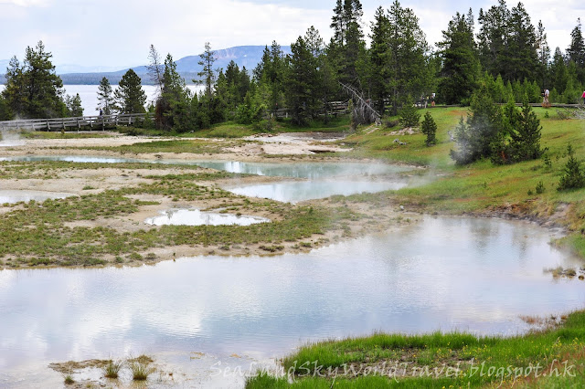 黃石國家公園, yellowstone national park, mud volcano